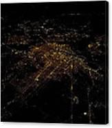 Washington Dc At Night II Canvas Print
