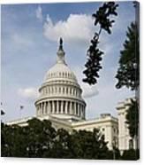 Washington Dc Capitol Dome Canvas Print