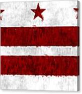 Washington D.c. Flag Canvas Print