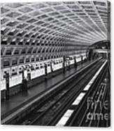 Washington Dc Metro Station I Canvas Print