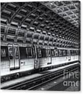 Washington Dc Metro Station Vi Canvas Print