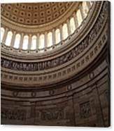 Washington Dc - Us Capitol - 011311 Canvas Print