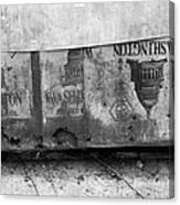 Washington Line Canvas Print