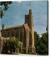 Washington Memorial Chapel Canvas Print