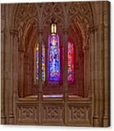Washington National Cathedral Colors Canvas Print