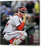 Washington Nationals V Arizona Canvas Print