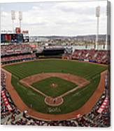 Washington Nationals V. Cincinnati Reds Canvas Print