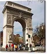 Washington Square Arch New York City Canvas Print