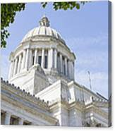 Washington State Capitol Building Dome Canvas Print