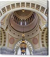 Washington State Capitol Building Rotunda Canvas Print