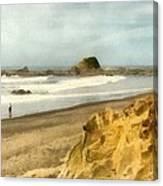 Washington State Seastacks Canvas Print