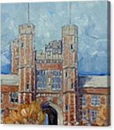 Washington University - Winter Morning Canvas Print