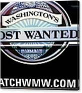 Washington's Most Wanted Canvas Print