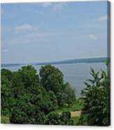 Washington's View From Mt. Vernon Canvas Print
