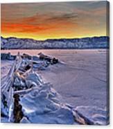 Washoe Ice Canvas Print