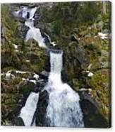 Wasserfalle Canvas Print