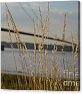 Wasting Time By The Humber Canvas Print