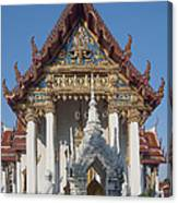 Wat Amarintaram Ubosot Dthb1507 Canvas Print