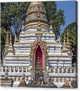 Wat Chai Monkol Phra Chedi Buddha Niche Dthcm0863 Canvas Print