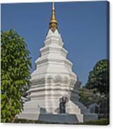 Wat Duang Dee Phra Chedi Dthcm0299 Canvas Print