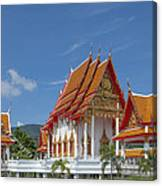 Wat Luang Pu Supa Ubosot Dthp323 Canvas Print