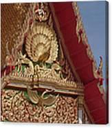 Wat Luang Pu Supa Ubosot Gable Dthp330 Canvas Print
