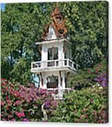 Wat Mahawanaram Bell And Drum Tower Dthu661 Canvas Print