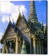 Wat Phra Kaew Canvas Print
