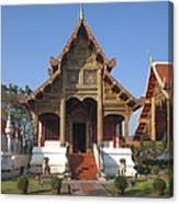 Wat Phra Singh Phra Ubosot Dthcm0246 Canvas Print