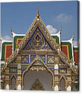 Wat Phrasri Mahathat Ubosot Gable Dthb1465 Canvas Print
