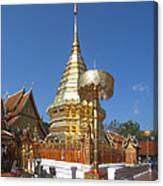 Wat Phratat Doi Suthep Golden Chedi Dthcm0002 Canvas Print