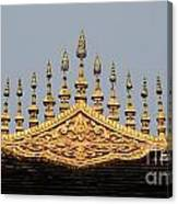 Wat Roof Detail Canvas Print