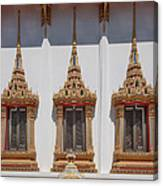 Wat Sapum Thammaram Ubosot Windows Dthp227 Canvas Print