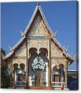 Wat Sri Don Chai Phra Wiharn Dthcm0084 Canvas Print