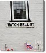 Watch Bell Street Rye Canvas Print