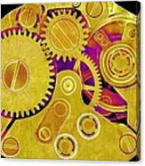 Watch Movement, Sem Canvas Print