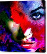 Watching You Through Color Canvas Print