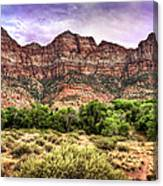 Watchman Trail - Zion Canvas Print