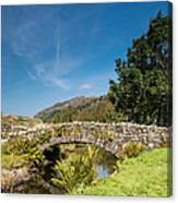 Watendlath Stone Footbridge Vertical Canvas Print