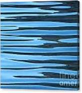 Water At Calanques De Cassis Canvas Print