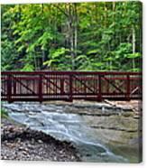 Water Cascade Canvas Print