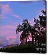 Water Colored Sky Canvas Print