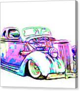 Water Colors 36 Ford Canvas Print