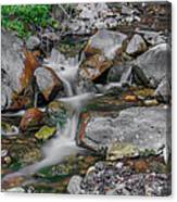 Water Coloured Rocks Canvas Print