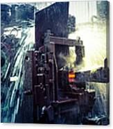 Water Cooling Of Roling Mill Line Canvas Print