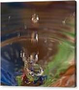 Water Drop Abstract 5 Canvas Print