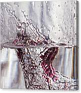 Water Drops Abstract  Canvas Print