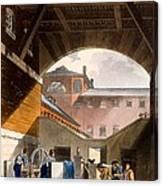 Water Engine, Coldbath Fields Prison Canvas Print