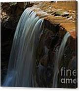 Water Fall At Seven Falls Canvas Print