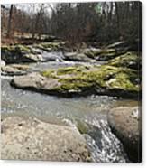 Water Fall Kentucky 2 Canvas Print